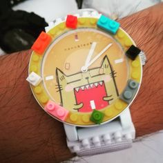 "19 mentions J'aime, 3 commentaires - Tommy Chan Taak Yee (@gctommychan) sur Instagram : ""#nanoblock #watch from #pocoteeandfriends I got from #mymeow #movie Facebook #contest with #cute…"""