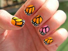 butterfly away nails