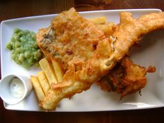 Fish and  chips. Londres
