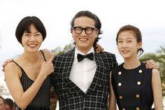 20 Mai - Doona Bae, Song Sae Byuk et Kim Sae Ron - Photocall - Dohee-ya