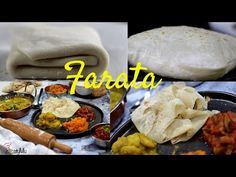 Soft and flaky farata/paratha - Step by step instructions - YouTube Mauritian Food, Rice Dishes, Step By Step Instructions, Family Meals, Curry, Lunch, Baking, Dinner, Eat