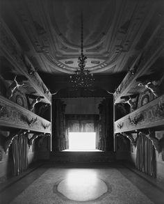 The Voyages Issue: Six Photographers on Their Dream Journeys - The New York Times : Hiroshi Sugimoto, Teatro Villa Aldrovandi-Mazzacorrati, Bologna
