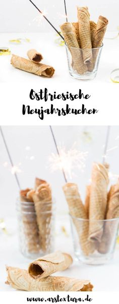 Ostfriesische Neujahrskuchen East Frisian New Year's Cakes - Recipe for New Year's Eve baking easy New Year's Desserts, Christmas Desserts, Delicious Desserts, Christmas Baking, New Years Eve Food, New Years Eve Dinner, Blue Hawaii, New Year's Food, Love Food