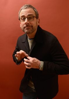 Steve Carell Has Turned Into A Silver Fox - Was he ever NOT hot?!