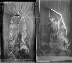 Untitled: air currents revealed by streams of smoke broken by a solid object, Etienne-Jules Marey Eadweard Muybridge, Camera Obscura, My Poetry, Public Art, Installation Art, Time Travel, Fractals, Art History, Fashion Art