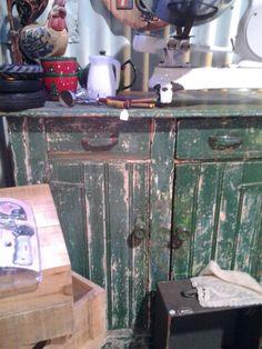 R3500 a gorgeous old OREGON KITCHEN or SIDEBOARD piece!!! Www.heyjudesbarn.co.za
