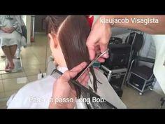 Long Bob como cortar. - YouTube