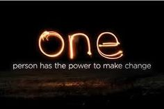 One person.......