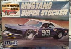 MPC Mustang Super Stocker box art