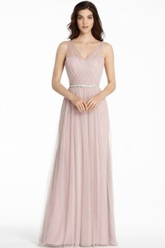 674f74a26e whatgoesgoodwith.com dusty-pink-long-dress-14  cuteoutfits Couture  Bridesmaid