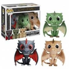 Game of Throne - Drogon, Rhaegal and Viserion