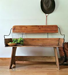 Redo It Yourself Inspirations : Horse Carriage Bench Seat Makeover