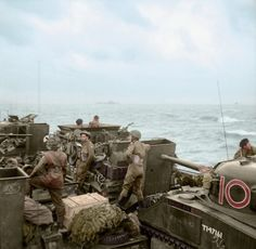 Wonderful Colorized images of D-Day