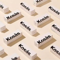 Show us your Kosas Skincare Packaging, Cosmetic Packaging, Beauty Packaging, Cool Packaging, Brand Packaging, Makeup Package, Cosmetic Design, Instagram Design, Packaging Design Inspiration