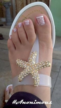 17 Ideas french pedicure designs toenails pretty toes for 2019 Nail Designs 2015, Toenail Art Designs, French Tip Nail Designs, Simple Nail Art Designs, Toe Nail Designs, Nails Design, Pedicure Nail Art, Toe Nail Art, Pedicure Ideas