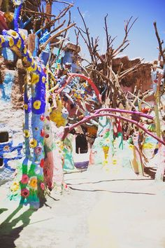 salvation mountain ' I am obsessed. I need to go here.