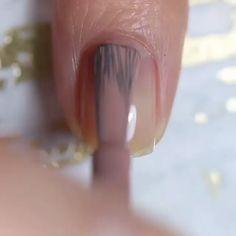 Nail Tip Designs, Nail Art Designs Videos, Black Nail Designs, Acrylic Nail Designs, Classy Nails, Stylish Nails, Trendy Nails, Cute Nail Art, Cute Acrylic Nails