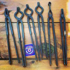 Beginner blacksmith tong set