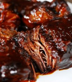 Barbecue Pot Roast. Your family won't be disappointed.