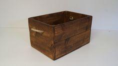 Jokapaikan iso puulaatikko, narukahvoilla - Laatikkokauppa, sisustuskauppa netissäLaatikkokauppa, sisustuskauppa netissä