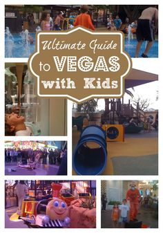 Are you planning a trip to Las Vegas with kids?  Whether you are planning a full on family vacation or just a quick weekend getaway Mommy Travels can help you out with our Guide to Las Vegas with C...