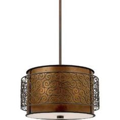 "Check out the Quoizel MC843CRC Mica 47-1/2"" 3 Light Pendant in Renaissance Copper priced at $309.99 at Homeclick.com."