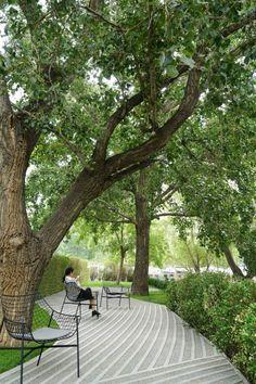 如诗的光影: 北京梵悦万国府公寓景观 / 承迹景观 - 谷德设计网