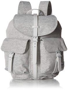 4c741dad49 Details about Herschel Supply Co Settlement Light Grey Crosshatch Backpack  Bag Pack Laptop New