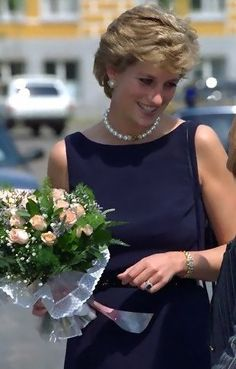 Princess Diana: A caring royal who actually, physically touched commoners. She shook the world.