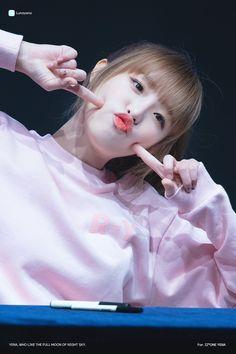 181110 Shinchon Jade Hall fan signing  #yena #izone