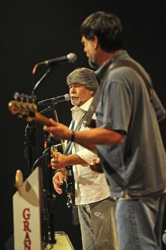 Randy Owen and Teddy Gentry of Alabama perform at the Opry. The band is reuniting for their 40th Anniversary tour. The country rock band saw tremendous mainstream success throughout the 1980s and 1990s Tuesday Aug. 13, 2013, in Nashville, Tenn.