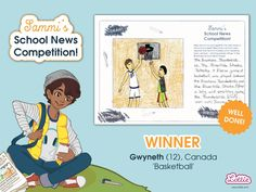 Congratulations to our Sammi School News Competition winners, whose entries featured in the Branksea school newspaper included with our Sammi doll. Steam Toys, School Newspaper, Sports Day, School S, Toys For Girls, Coloring Pages For Kids, Doll Accessories, Competition, Congratulations