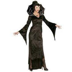 Disfraz de bruja araña para mujer