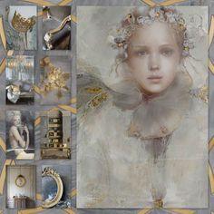 Golden grey....by Silvia Hokke