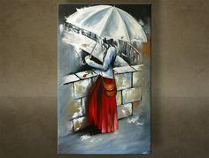Ručne maľovaný obraz ŽENA 1 dielny 6161FA