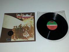 Led Zeppelin II Vinyl LP Gold Records Award Sticker Robert Plant Jimmy Page