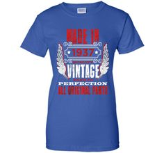 Made In 1937 Vintage 79th Birthday 79 Years Old Gift T-Shirt
