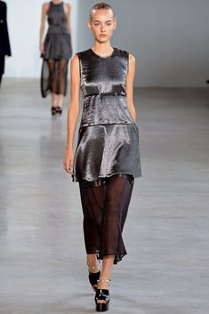 Calvin Klein Collection Spring 2015 Ready-to-Wear Fashion Show - Maartje Verhoef