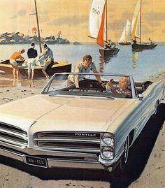 1966 Pontiac Catalina Convertible - 'Sailing at the Bay': Art Fitzpatrick and Van Kaufman