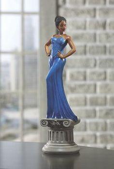 Diva Blue Figurine from Midnight Velvet.