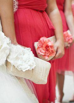 BRIDESMAIDS wedding clutch