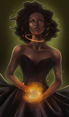 ArtStation - Black Magic, Bimpe Alliu