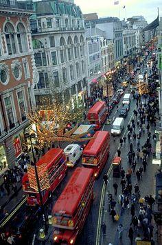 Oxford Street - London, Uk