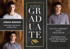 Stacked Graduate Invitation