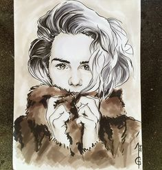 Emily Bett Rickards Felicity Smoak - Overwatch Arrow, the Arrow Artwork, drawing, fanart, comics DC comics