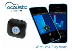 Acoustic Stream has been designed by Robert W Bean as a 4 in 1 companion device for guitarists.