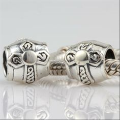 Celtic Cross Authentic Sterling Silver Charms Symbols Fits Biagi Bead