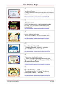 Interaktív tananyagaim | PDF to Flipbook Einstein, Education, Math Resources, Primary School, Onderwijs, Learning