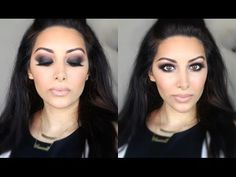 Classic Black Smokey Eye Tutorial ♡ NASEEM DELAN