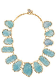 Kara Ross Raw Resin Necklace by tracy sam